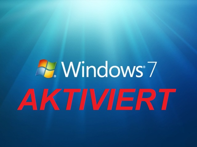 Windows 7 aktivieren