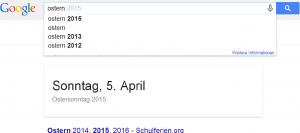 google feiertag